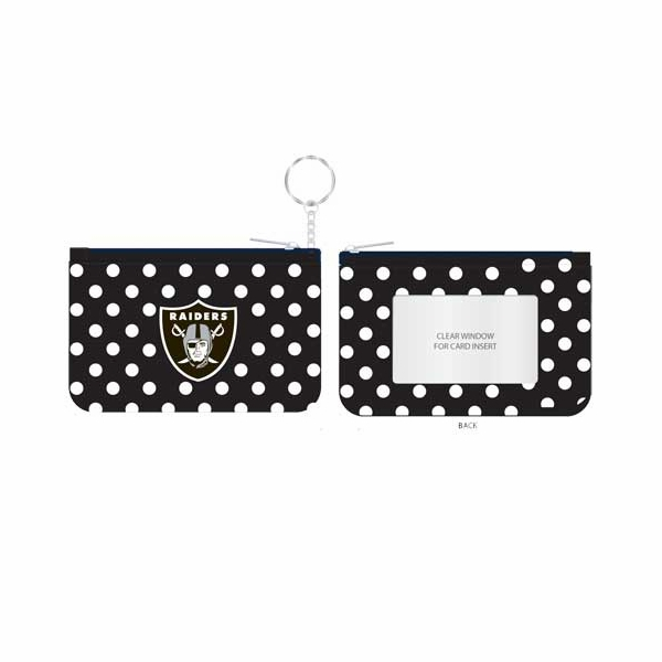Raiders Coin Purse Key Chain