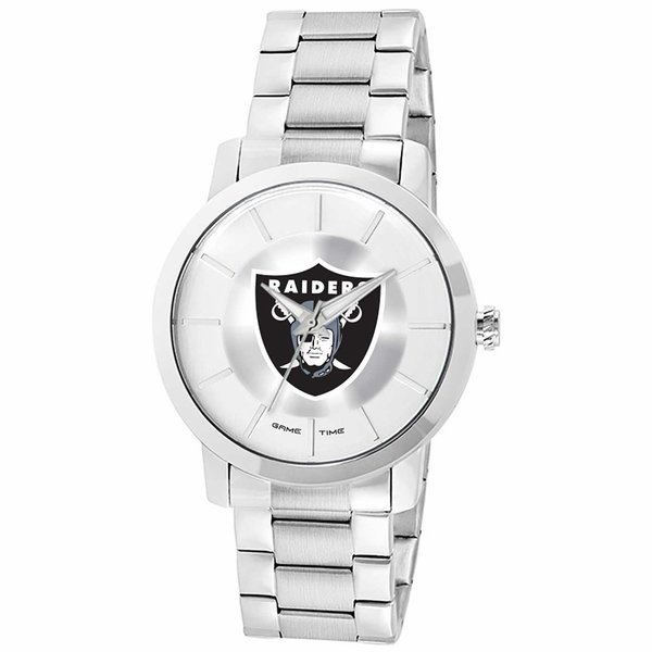 Raiders Competitor Steel Silver Watch