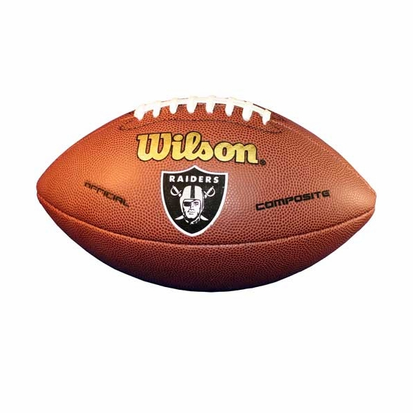 Raiders Composite Football