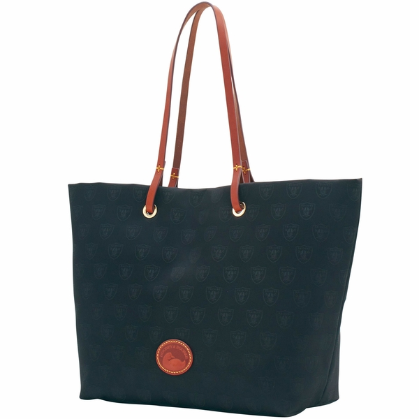 Raiders Dooney & Bourke Nylon Addison Tote