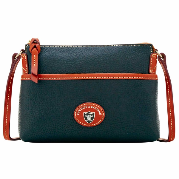 Raiders Dooney & Bourke Pebble Ginger Crossbody
