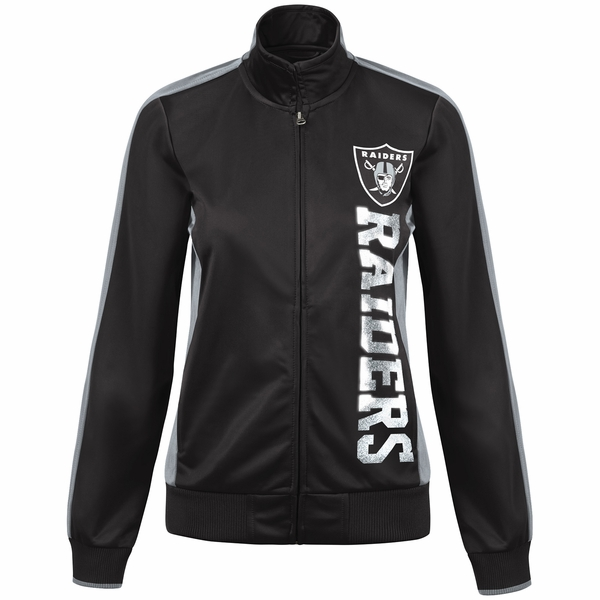 Raiders Drop Back Track Jacket