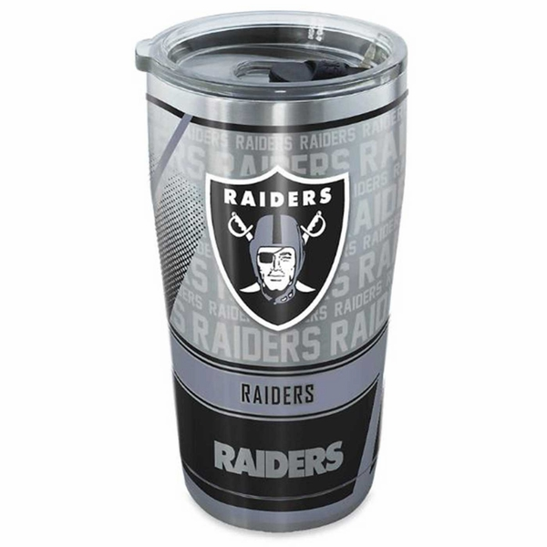 Raiders Edge Metal 20oz Tumbler