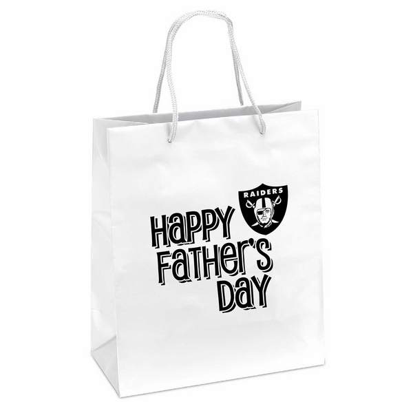 Raiders Father's Day Gift Bag