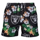 Raiders Floral Swimming Trunks