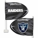 Raiders Football Shape Car Flag