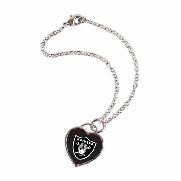Raiders Heart Necklace