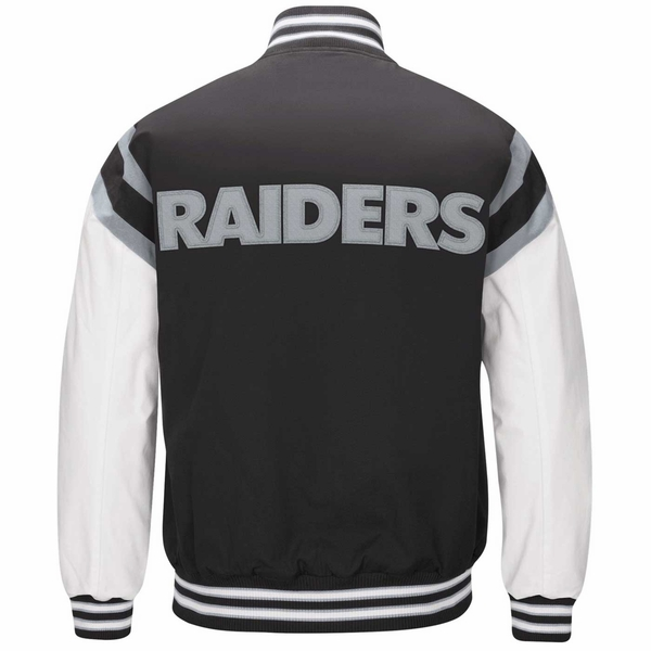 Raiders Home Team Varsity Jacket
