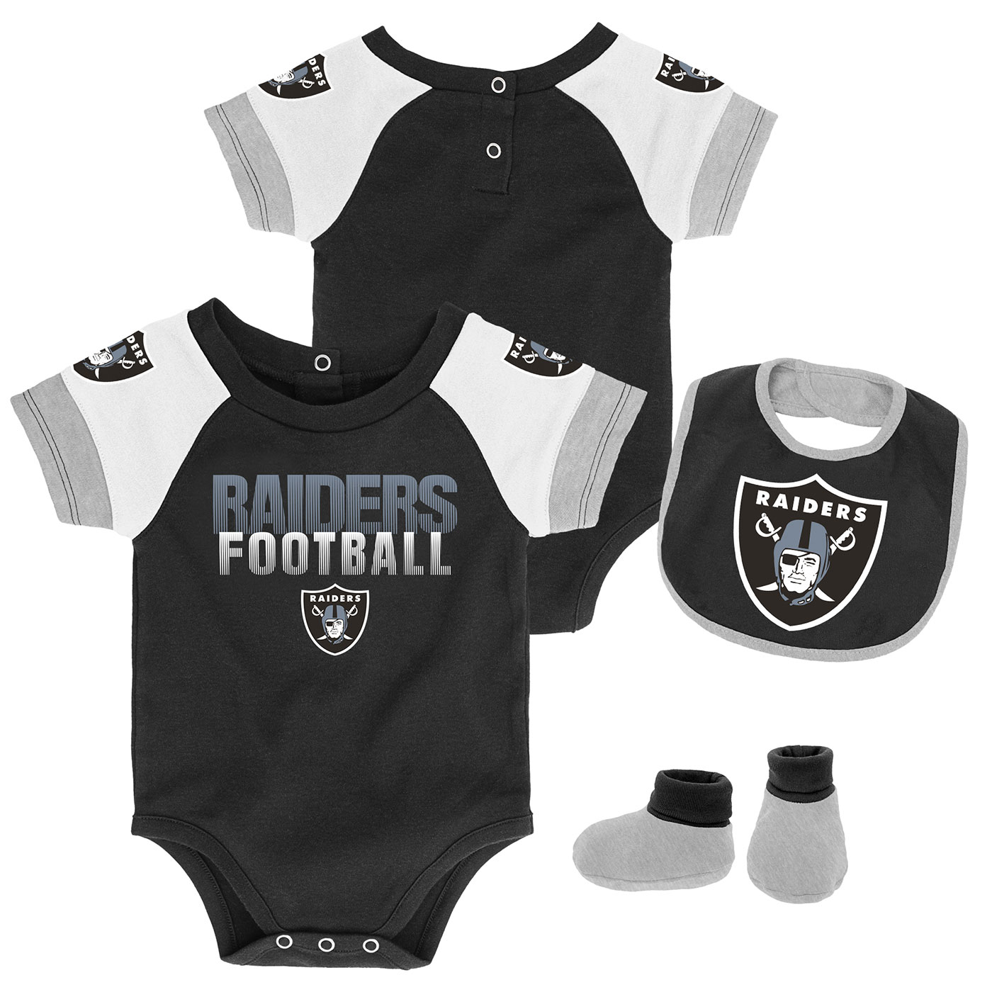Raiders Infant 50 Yard Dash 3 Piece Set c6a47b3c2