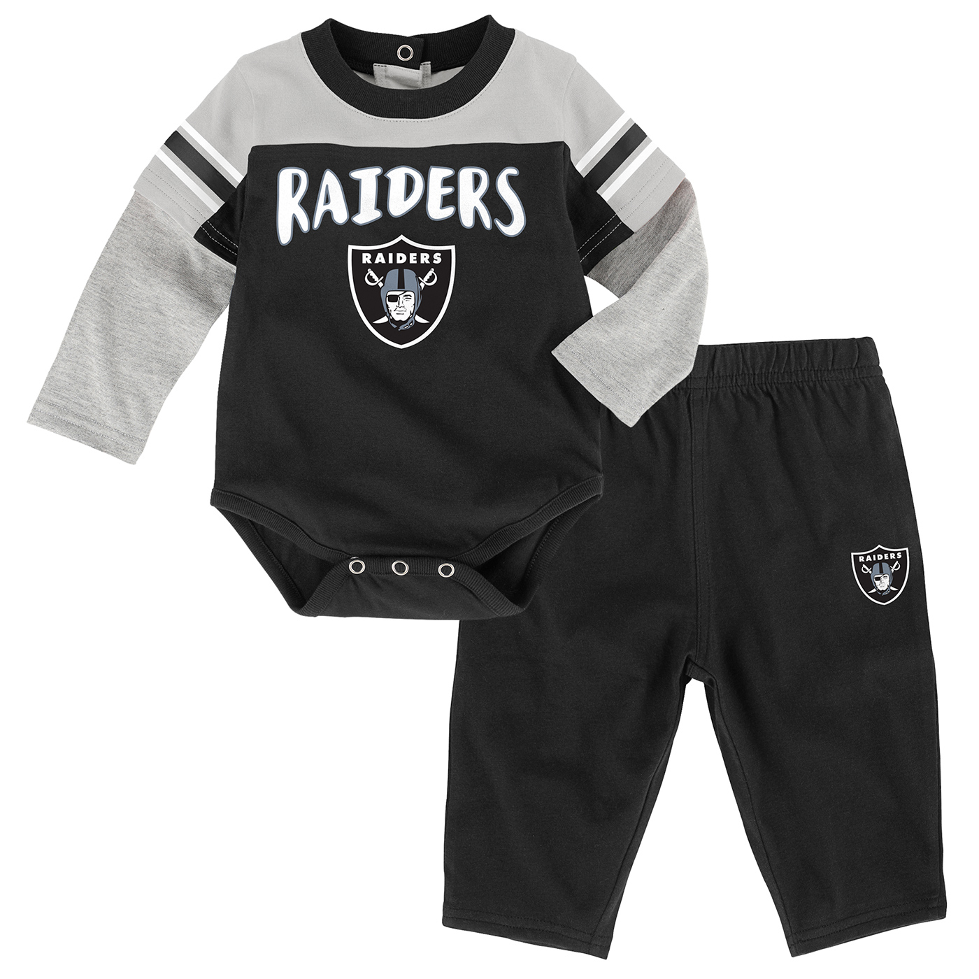 490aed5b2 Raiders Infant Halfback Creeper Set