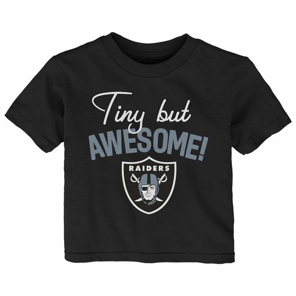 Raiders Infant Tiny But Awesome Tee