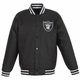 Raiders JH Design Poly Twill Black Jacket