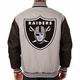 Raiders JH Design Poly Twill Jacket