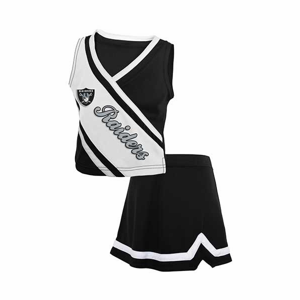 Raiders Juvenile Cheer Dress