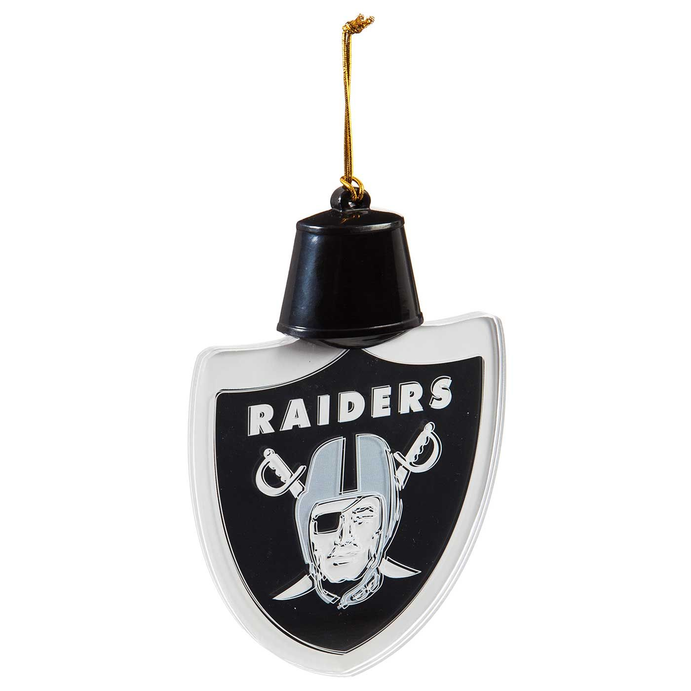 Raiders LED Logo Ornament