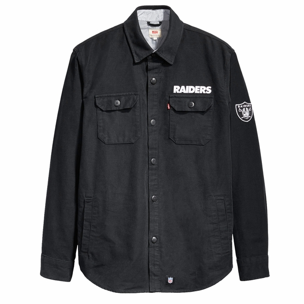 Raiders Levi's NFL Over Shirt