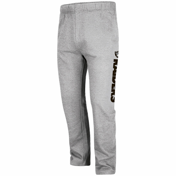 Raiders Majestic Critical Victory Grey Pant