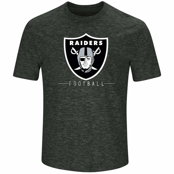 Raiders Majestic Hyper Stack Tee