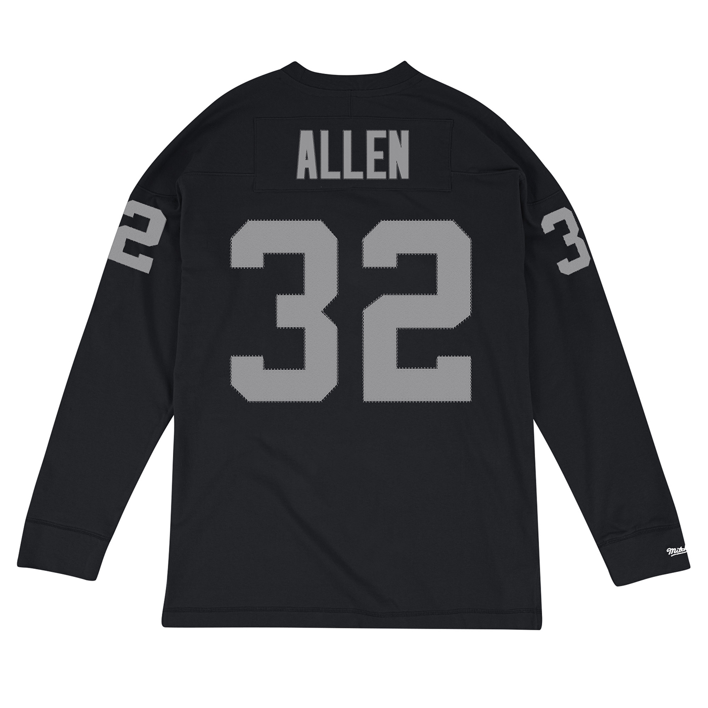 0b731bbe0 Raiders Mitchell & Ness Marcus Allen Name & Number Long Sleeve Tee