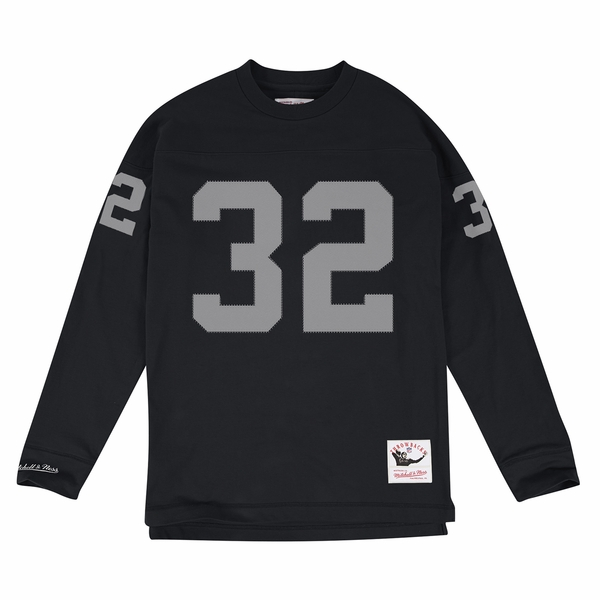 Raiders Mitchell & Ness Marcus Allen Name & Number Long Sleeve Tee