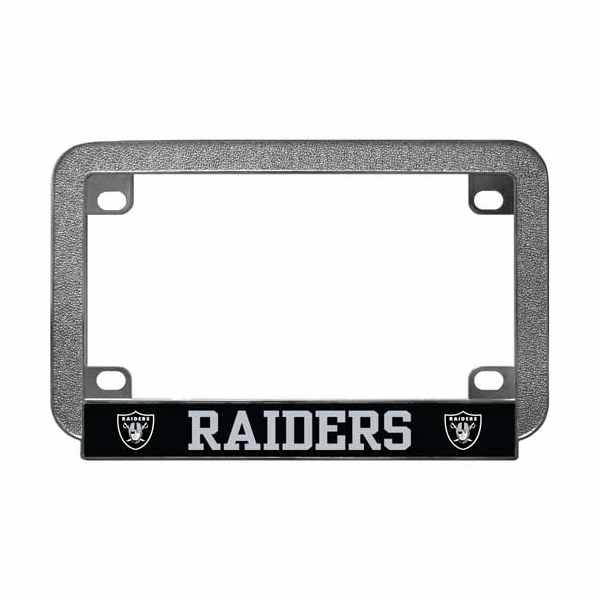 Raiders Motorcycle License Frame 1067a60490