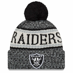 49d2243048e Raiders New Era 2018 Official On Field Sport Knit