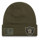 Raiders New Era 2018 Salute to Service Knit Cap