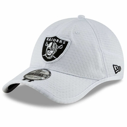 huge discount dd342 2d274 Raiders New Era 2019 Forty9 On Field Training Camp Cap