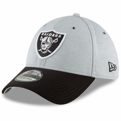 d0dab26faf3 Raiders New Era 39Thirty 2018 Official Sideline Home Cap