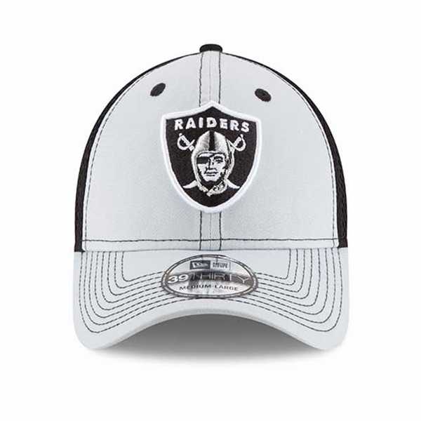 Raiders New Era 39Thirty Team Front Neo Cap