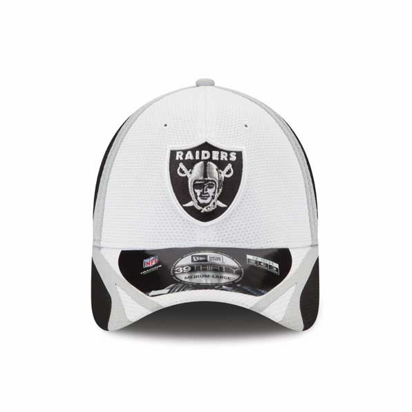 Raiders New Era 39Thirty Training Camp Cap