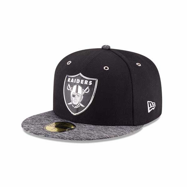 Raiders New Era 59Fifty 2016 On Stage Draft Cap