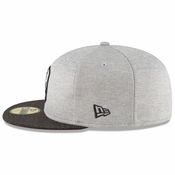 Raiders New Era 59Fifty 2018 Official Sideline Road Cap