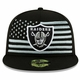 Raiders New Era 59Fifty 2019 On Stage Draft Cap