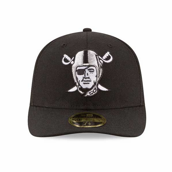 Raiders New Era 59Fifty Low Profile Pirate Cap