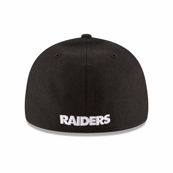 4ace6ae1aeb4bb Raiders New Era 59Fifty Low Profile Pirate Cap