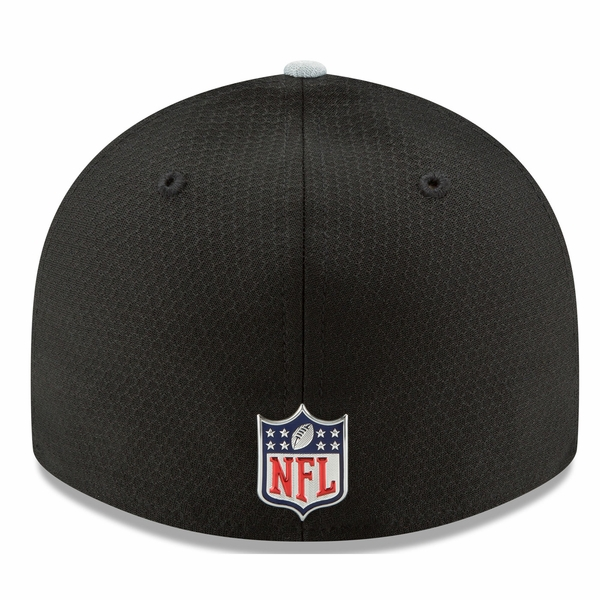 Raiders New Era 59Fifty Official 2017 Sideline Low Profile Fitted Cap