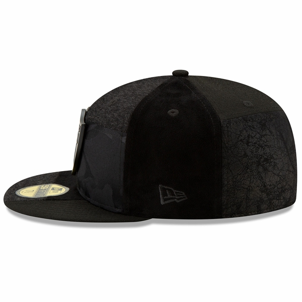 Raiders New Era 59Fifty Premium Patched Cap