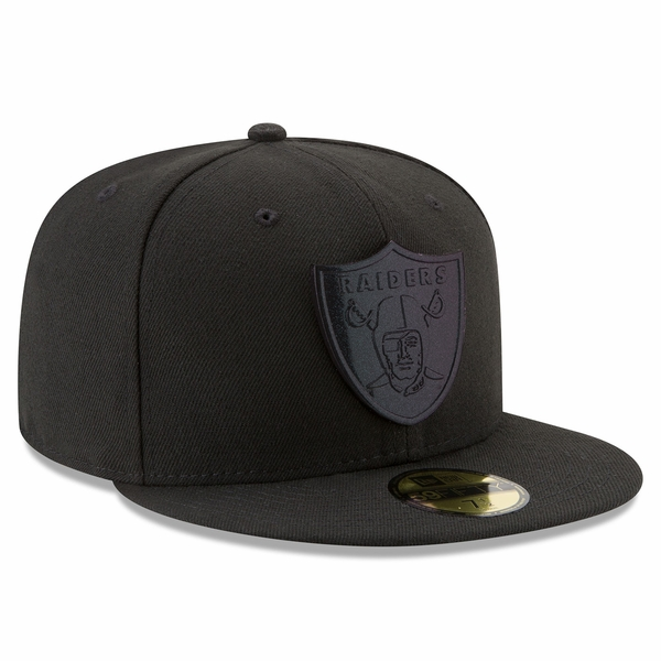 Raiders New Era 59Fifty Speckle Sheen Cap