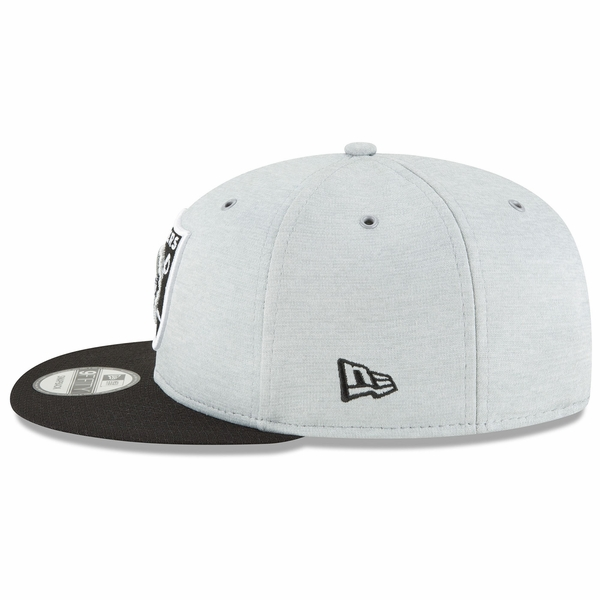 Raiders New Era 9Fifty 2018 Official Sideline Home Cap