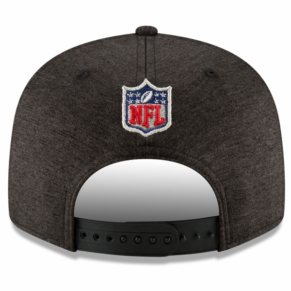 Raiders New Era 9Fifty 2018 Official Sideline Road Cap