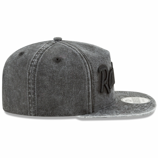 Raiders New Era 9Fifty Easy Washed Black Cap