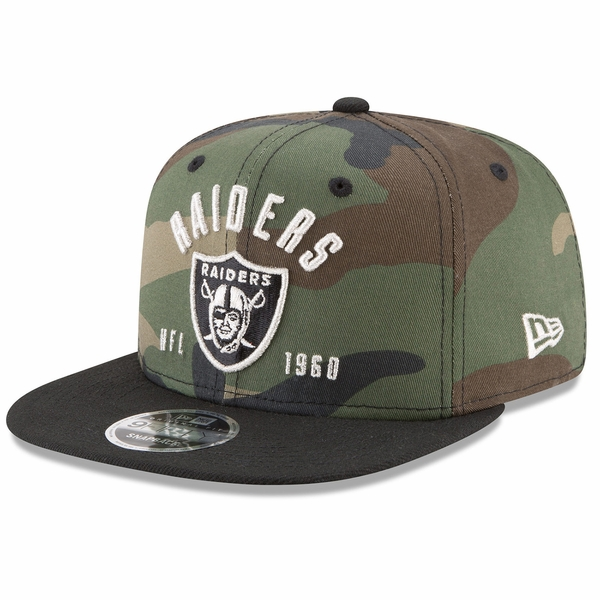 Raiders New Era 9Fifty Establisher