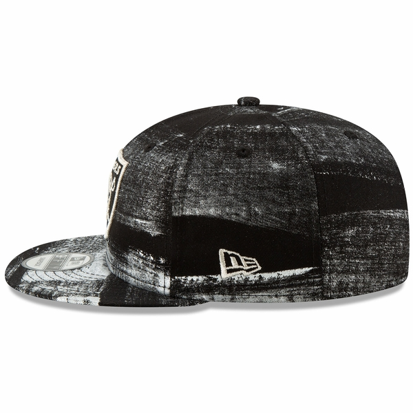 Raiders New Era 9Fifty Painted Prime Cap