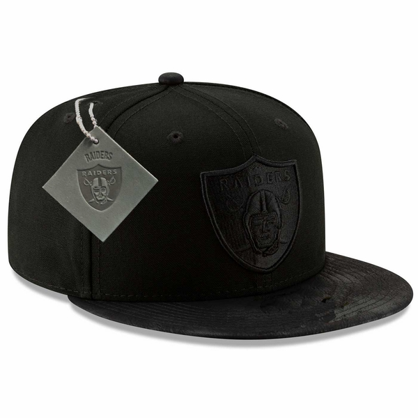 Raiders New Era 9Fifty Patched Team Hook Cap