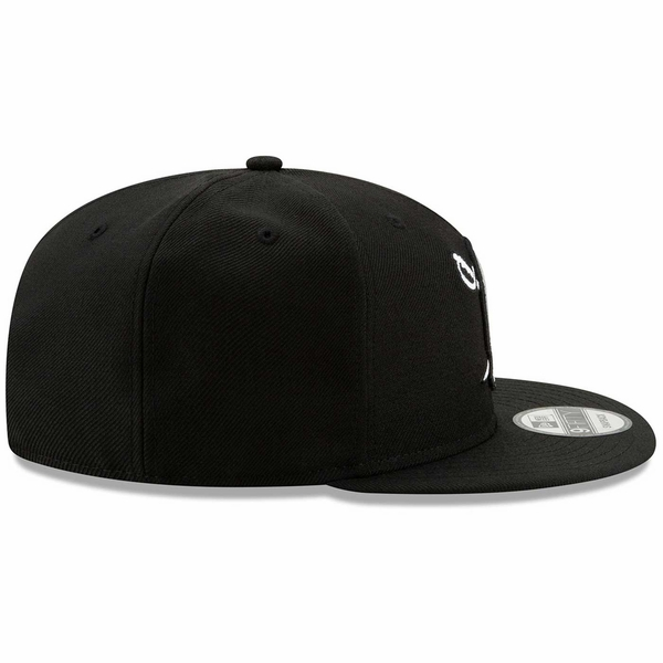 Raiders New Era 9Fifty Pirate Logo Black Cap