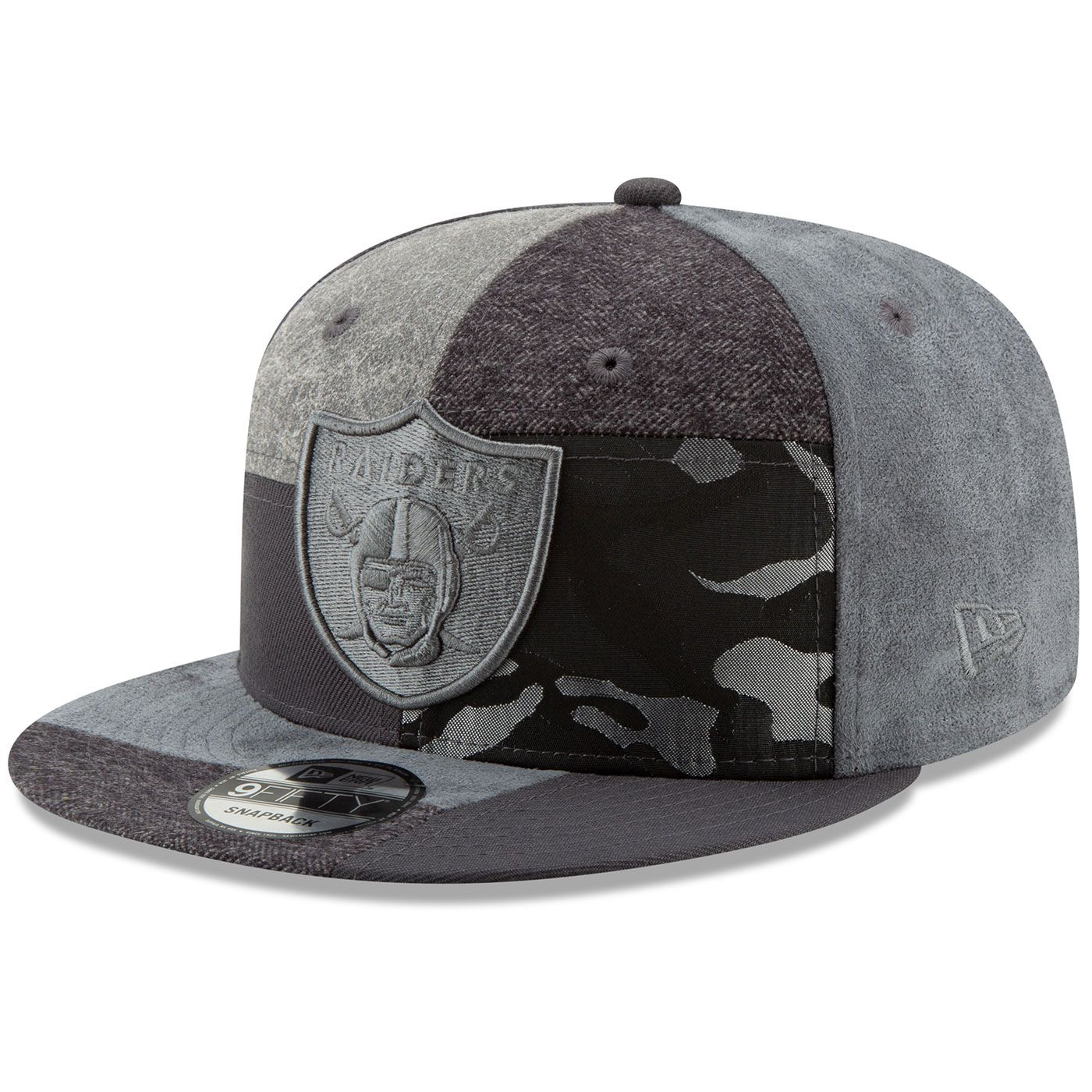 purchase cheap 03e8f 77d2f Raiders New Era 9Fifty Premium Patched Cap