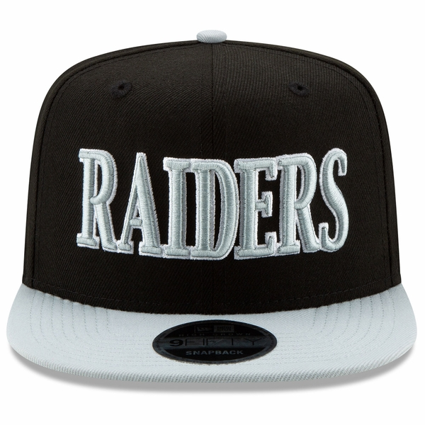 Raiders New Era 9Fifty Retro Classic Two Tone Cap