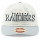 Raiders New Era 9Fifty Stated Team Front Cap