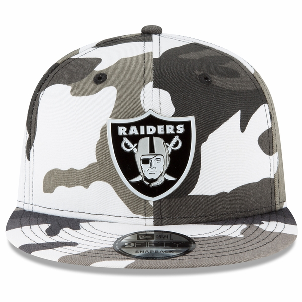 Raiders New Era 9Fifty Urban Badge Cap